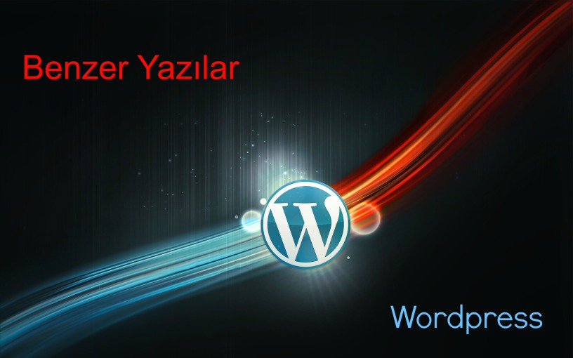Wordpress Benzer Yazılar