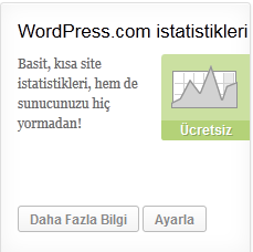 wordpress istatistikler