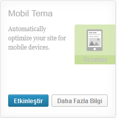 wordpress mobil tema