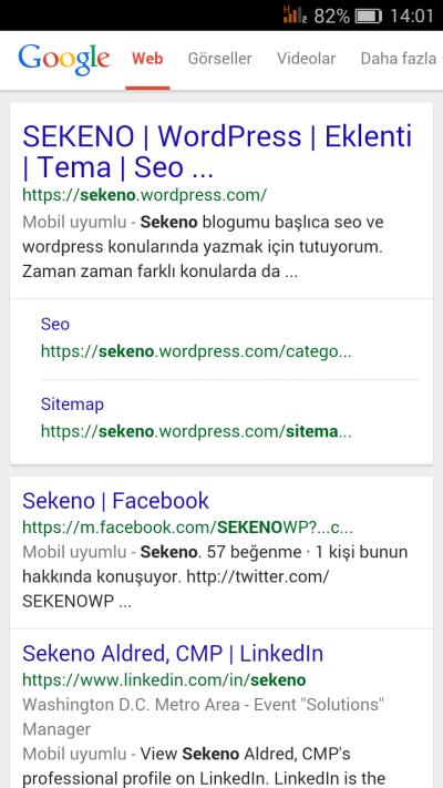 Google mobil uyumlu