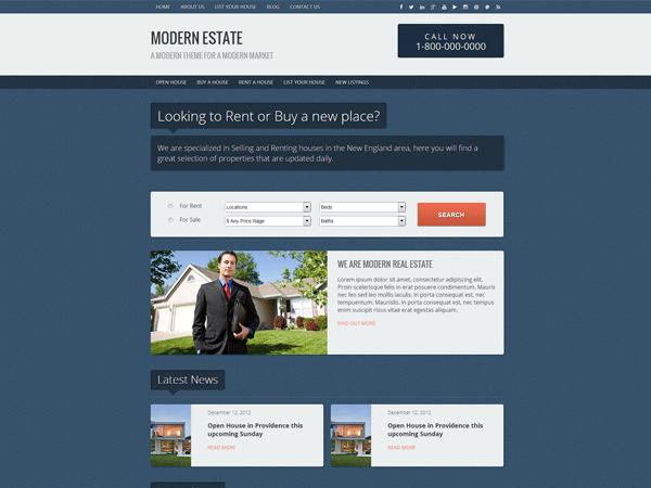 Modern Estate Teması