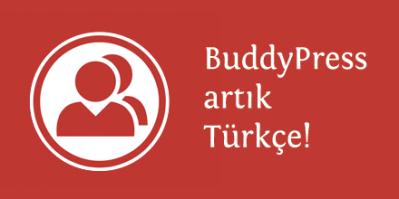 buddypress türkçe