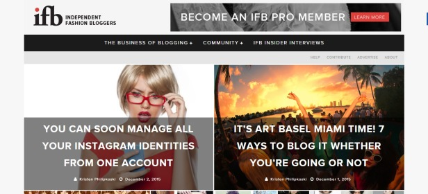 Independent Fashion Bloggers Your Blogging Community