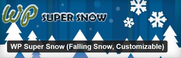WP Super Snow kar yağdırma eklentisi