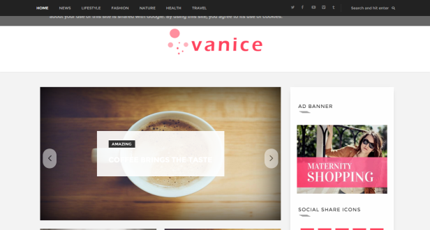 Vanice-Blogger-Template