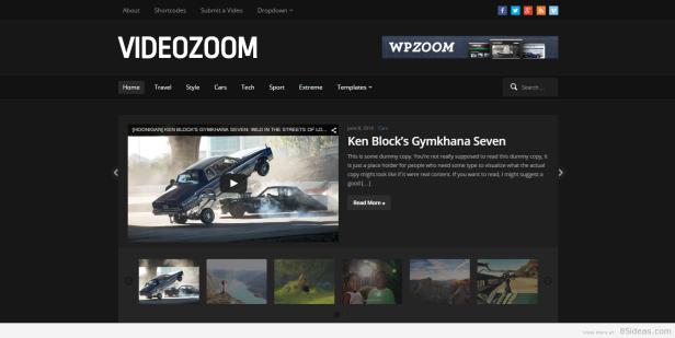 Videozoom teması